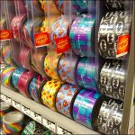 Duck Tape Gravity-Feed in Color