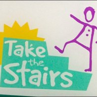 Elevator Advisory Take the Stairs Logo