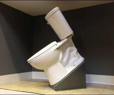 Rakish Angle Toilet Install Overall