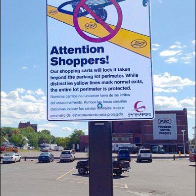 Shopping Cart Anti THeft Overview