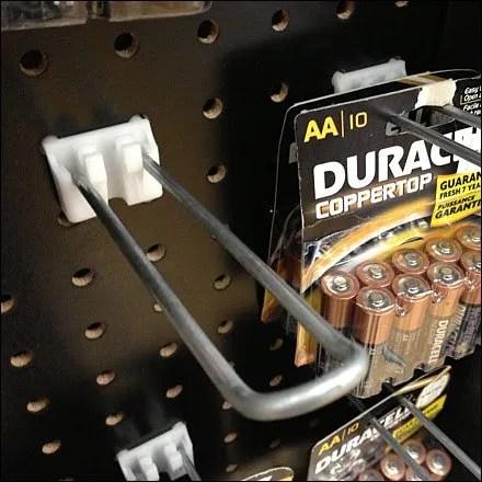 Staright Entry Loop Hook for Batteries 2