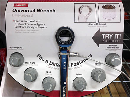 Universal Wrench Try-Me Offer