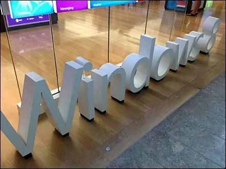 Windows 8 Analog Signage Main