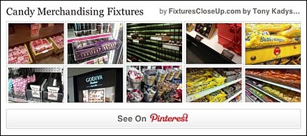 Candy Merchandising Fixtures Pinterest Board as FixturesCloseUp