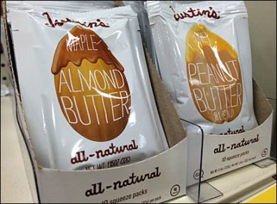 Justin's Nut Butter Angled
