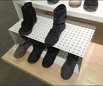 Perforated Metal Shoe Box Main