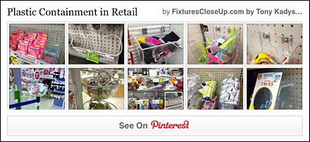 Plastic Containment in Retail Pinterest Board