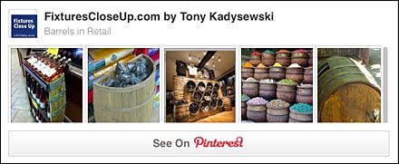 Barrels In Retail Merchandising Pinterest Board