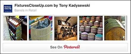 Barrels In Retail Merchandising Pinterest Board