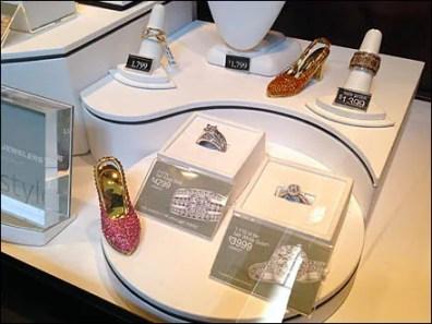 Bejeweled Kitten Heels Jewelry On Sale 3