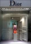 Dior Door With Logo