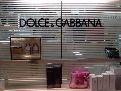 Dolce and Gabbana Fragrance Display 3