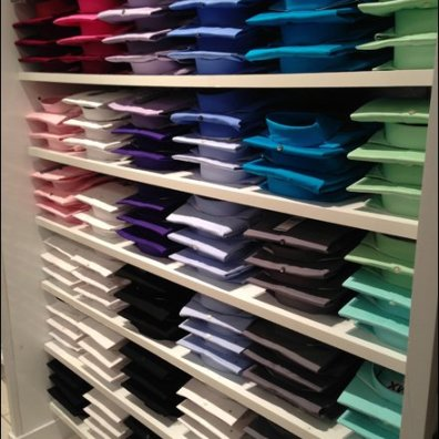 Dress Shirt Color Array 2