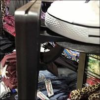 Drop-in New Arrivals Sign CloseUp Detail