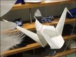 Origami in Visual Merchandising