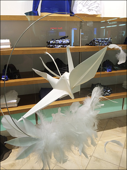 Origami in Visual Merchandising