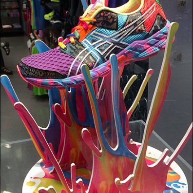Shoes Make a Splash in Color Main