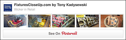 Wicker in Retail Pinterest Board