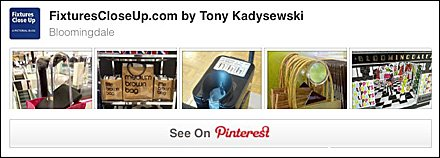 Bloomingdales Pinterest Board on FixturesCloseUp