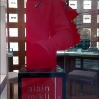 Alain Mikli Red Faced Profile