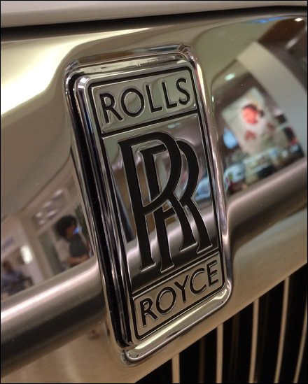 Buying a Rolls Royce at the Mall Main