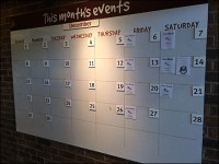 Wegman's Christmas Calendar Scheduling