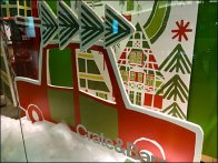 Crate-&-Barrel Corrugated Christmas Constructs