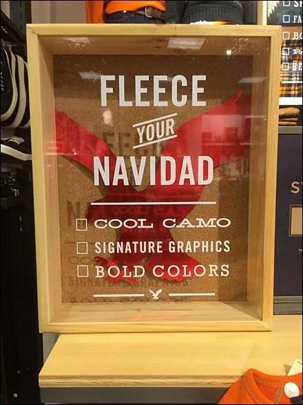 Fleece-Your-Navidad Shadowbox Tag Line