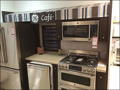 GE Cafe Menu of Appliances 2
