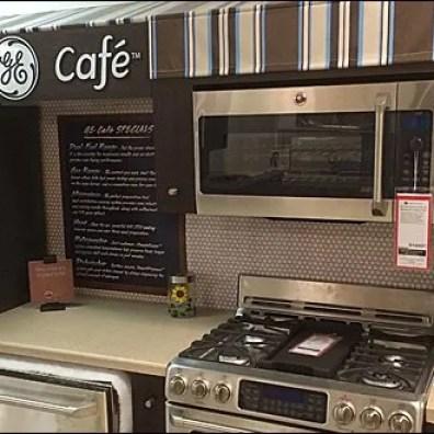 GE Cafe Menu of Appliances 3