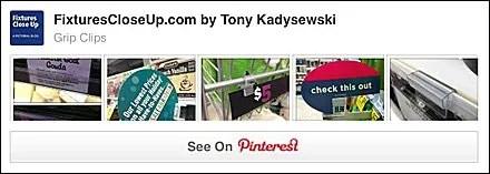 Grip Clip Pinterest Board for FixturesCloseUp