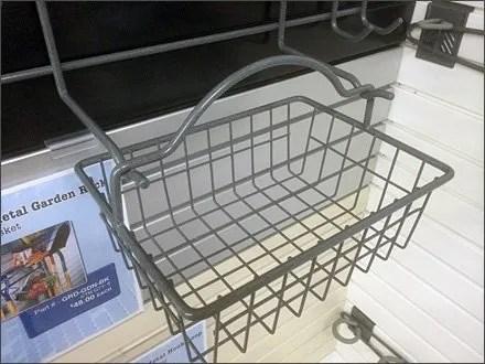 Hook Hung Basket 4