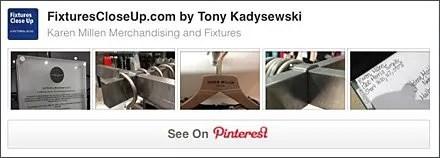 Karen Millen® FixturesCloseUp Pinterest Board