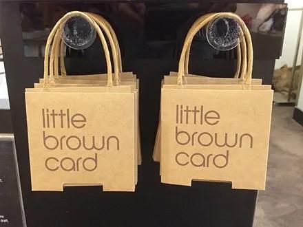Bloomingdales Littlest Brown Bag