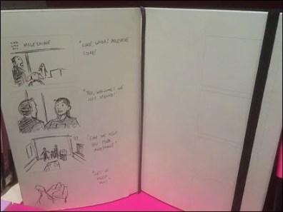 Moleskine Shelf-Edge Storyboard Sell