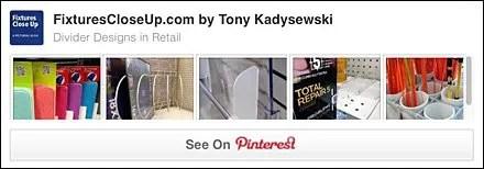 Shelf Divider Pinterest Board for Fixtures FloseUp