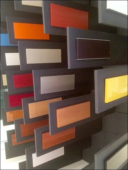 Snaidero Multi-Color Multi-Wall Samples