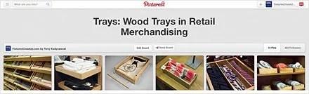 Trays_ Wood Trays in Retail Merchandising