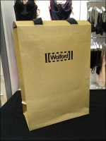 Wolford Gold Gift Bag