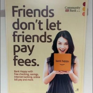Friends Don't Let Friends Pay Fees Aux