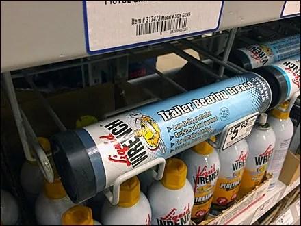 Liquid Wrench Under-Shelf Gravity Feed