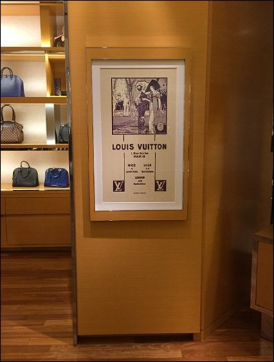 Louis Vuitton Locations in Art Nouveau 1