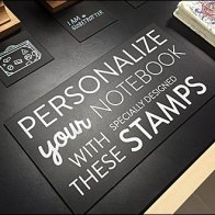 Moleskine Stamps Engage and Personalize