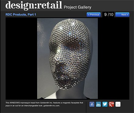 WINDOWS Magnetic Faceplate Mannequin Main