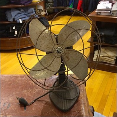 Antique Fan Visual Merchandising Prop Main