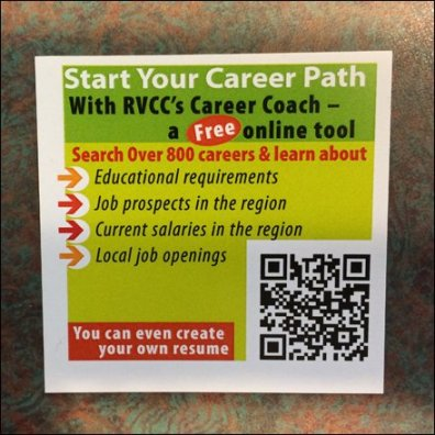Career Coach QR Chit Detail