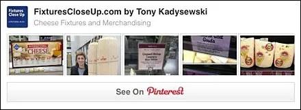 Cheese Fixtures and Merchandising Pinterest Board