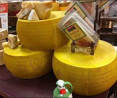 Cheese Wheel Food Props Main