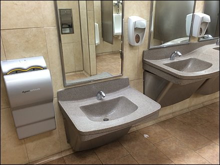 Retail As Civilizing Influence - Child-Height Sink and Fixtures Main