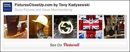 Gucci® FixturesCloseUp Pinterest Board